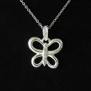 Premier Designs Butterfly necklace NWOT
